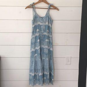 Vintage Jody T of California 70's Midi dress